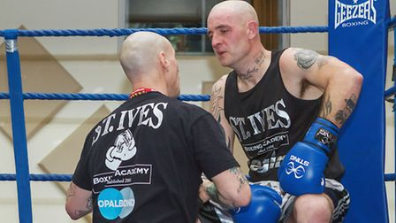 Aaron Francis was a star performer at the latest St Ives Boxing Academy show in the town. Picture: B