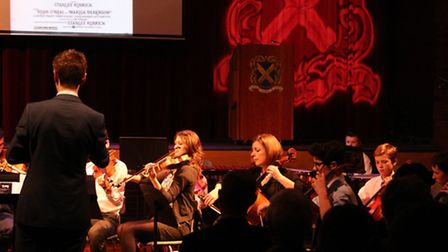 Jan Harlan's talk at St Albans School was followed by a concert of music from Stanley Kubrick's film
