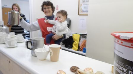 Amanda used the opportunity of her son's first birthday party to hold a charity fundraiser for the r