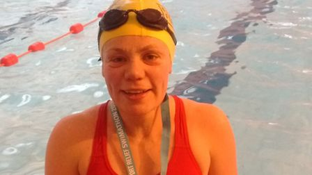 Swimmers of all abilities took part.