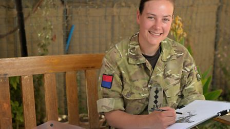 Captain Sophie Whitaker. PICTURE: Corporal Si Longworth RLC.