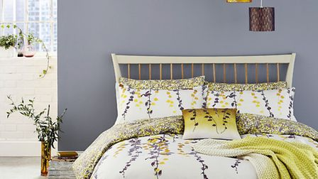The Boston Ivy Bedding and Housewife Pillowcase, available from Clarisshulse.com (PA Photo/Handout)