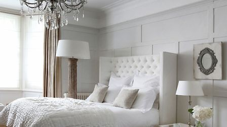 Laurent Double Bed and Luxe Collection St Tropez Double Mattress, available from Sweetpeaandwillow.c