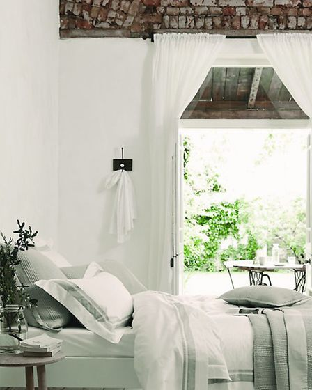 The Brompton Bed Linen Collection in Silver and Standard Oxford Pillowcase (PA Photo/Handout)