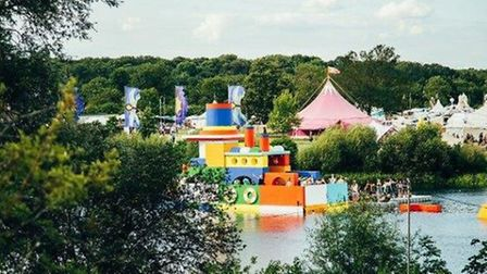 One of the stages at Secret Garden Party