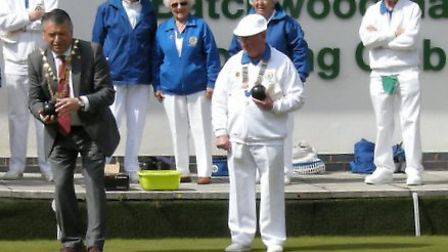 Batchwood Bowling Club celebrated it's 50th anniversary on Saturday having originally been founded i