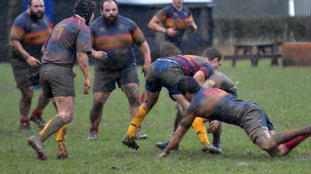 The Lake brothers were involved in a number of tries as Tabard finished the season in style. Picture