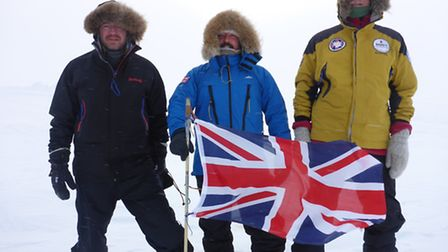 Ed Suttie's mission to the North Pole