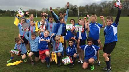 St Albans RFC hosted a tag rugby tournament run by Saracens
