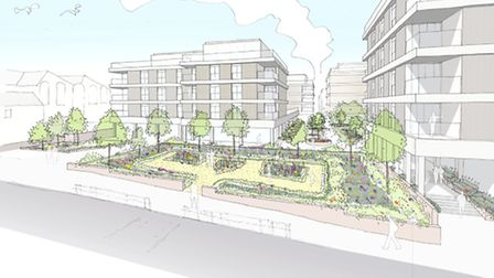 Angle Property has announced redevelopment proposals for St Albans Civic Centre.