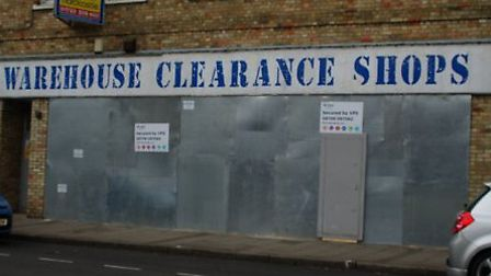The warehouse clearance store where JD Wetherspoon plan to open in St Ives
