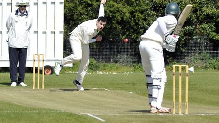 Stand-in skipper Chris Gilthorpe took five wickets for Kimbolton.