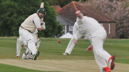 Dan Roe is hoping to lead Redbourn to promotion this year. Picture: DANNY LOO