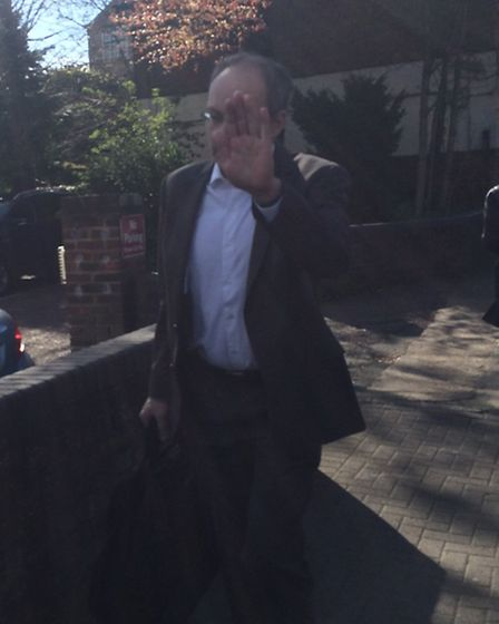 David Walker pleaded guilty to two counts of voyeurism at an earlier hearing