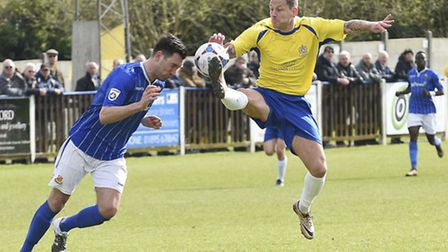 Charlie MacDonald is one player likely to miss out in the Herts Charity Cup. Picture: BOB WALKLEY