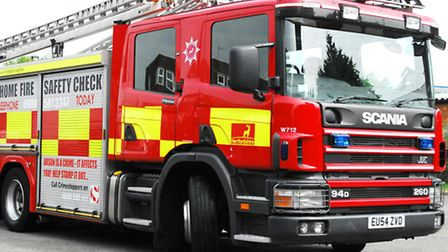 Fire crews were called after the fire in Green Street.