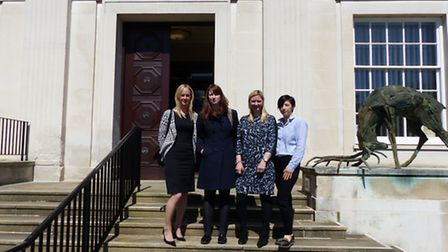 Parents for Primary Schools, from left: Sophie Ashcroft, Liza Macintyre, Thea McCloud Hall and Chris