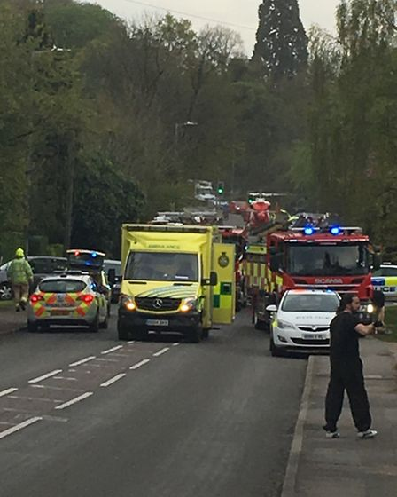 Did you see anything? Police are appealling for witnesses of the incident on Harpenden Road