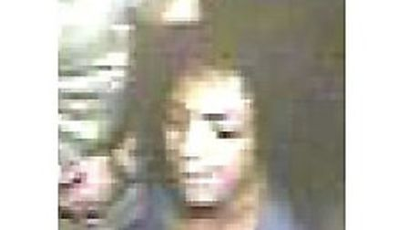 Have you seen this woman? CCTV image released today by police of woman they would like to speak to