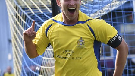 St Albans skipper Sam Corcoran has been named player of the month for April. Picture: BOB WALKLEY