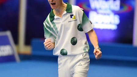 World indoor singles champion Nicky Brett has now added a national pairs crown to his collection. Pi