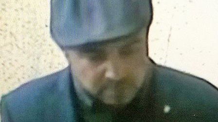 Police would like to speak to this man in connection with an incident of theft in St Neots.