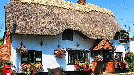 The Old Thatched Inn dates back to 1702