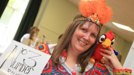 Laura Whitford, owner of No.3 Royston craft shop organised the carnival craft fair at Royston Town H