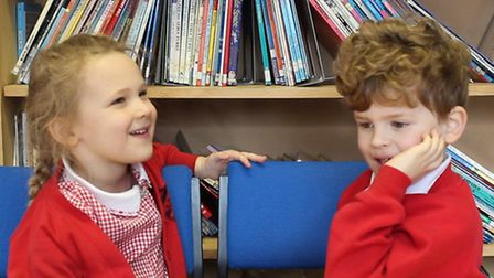 Pupils of The Grove Infant and Nursery School in Harpenden have become social media stars following