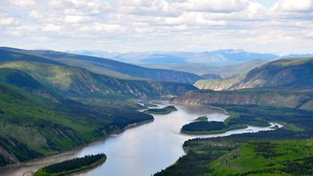 Ian Finch is canoeing the Yukon River as part of the 'Pull of the North' expedition