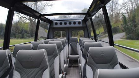 Enjoy the Cabrio Sprinter with White's Coaches in St Albans