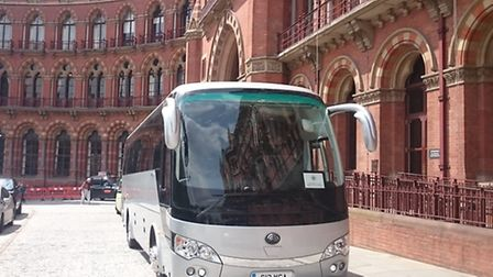 White's Coaches also has a 28-seat Yutong vehicle, which offers the perfect solution for larger grou