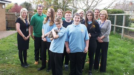 Sawtry Village Academy pupils at 'homegrownandraised'