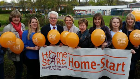 Best-selling author Ken Follett has become patron of family support charity Home-Start Hertfordshire