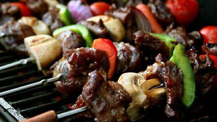 Kebabs offer a healthy alternative to barbecues.