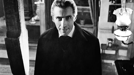 British actor Christopher Lee plays the vampiric Count in 'Dracula', 1958. (Photo by Silver Screen C
