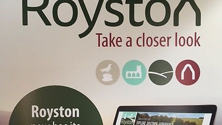 There's a new Royston Town website to raise the profile of the town.