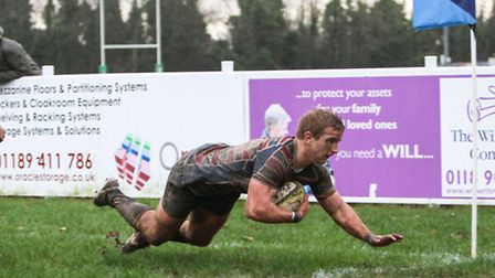 Old Albanian's Harry Bate starred as Hertfordhire beat Surrey in the Bill Beaumont Cup. Picture: NEI