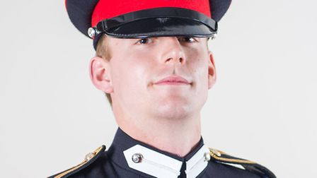 Charlie Kenzie from Royston passed out from Royal Military Academy Sandhurst. PICTURE: Johnny Fenn.