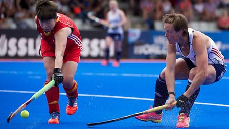 St Albans' Hannah Macleod says Great Britain showed great character to come from behind twice agains