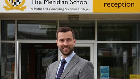 New head of sixth form Clive Crisford.