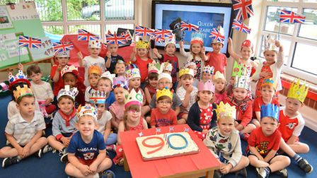 Crosshall Nursery, Eaton Ford, celebrate the Queens Birthday,