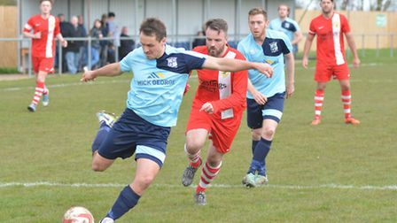 Micky Hyem is staying at Godmanchester Rovers.
