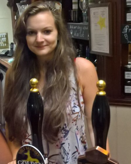 Paula Smith, who works at The Boars Head.