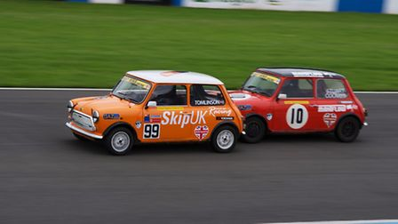 Royston's Sam Tomlinson at the BARC Mighty Minis Championships