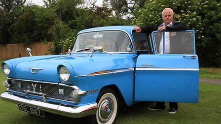 This immaculate 1960 Vauxhall Victor has been in the ownership of Cambridge man, Gary Seeley for the