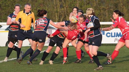 Womens Rugby Union side Old Albanian Saints are looking for a head coach. Picture: TOM BEITH