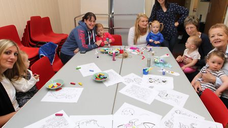 Laura Bluer set up a toddler group in Reed