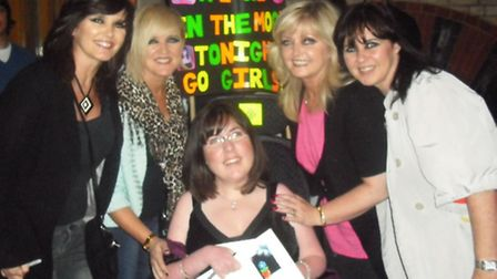 Maureen, Bernie, Kirsten, Linda and Coleen on their reunion tour in 2009.