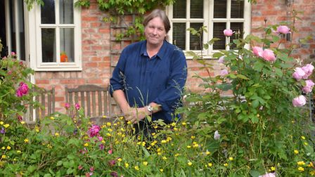 Stephan Hall, from Upper Dean, is designing a garden for flower show